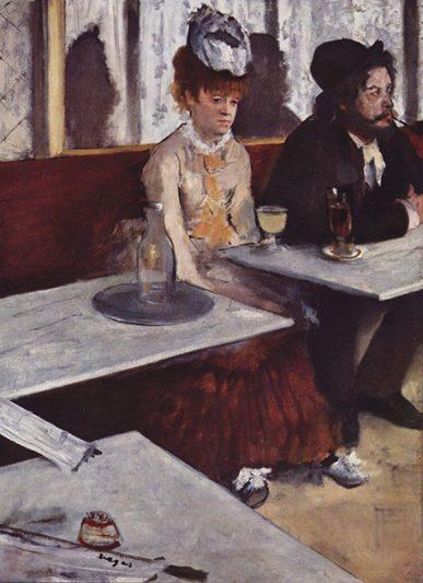 L'Absinthe par Edgar Degas