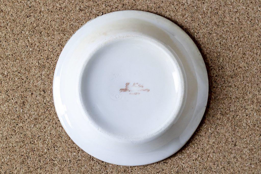 カフェ勘定皿(1,75フラン)