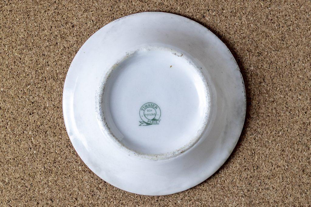 カフェ勘定皿(40旧フラン)