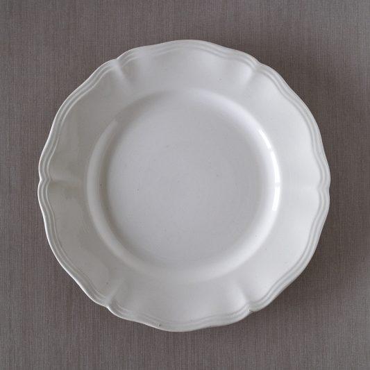 1920-50年刻印サルグミンヌ花形リム平皿