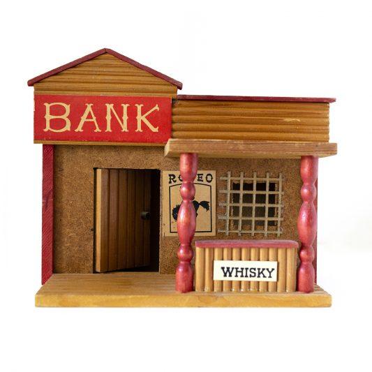 1980年チェコスロバキア共和国製 銀行のおもちゃ